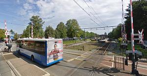 Spoorwegovergang station Nunspeet