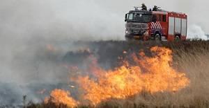 Ontruiming en circulatie bij natuurbrand