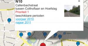 Tellen op 100 locaties in Nijkerk