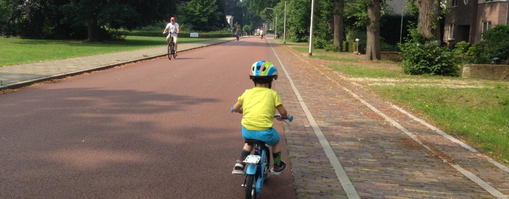 ombouw naar veilige fietsstraat